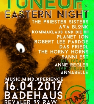 TuneUP Easter Sause//Badehaus//16.04//Ostersonntag
