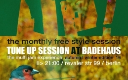TuneUP Session // Badehaus // Montag – 04.09.17
