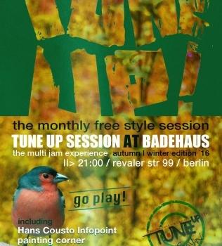 TuneUp Session 03/03/14 @ Badehaus Szimpla
