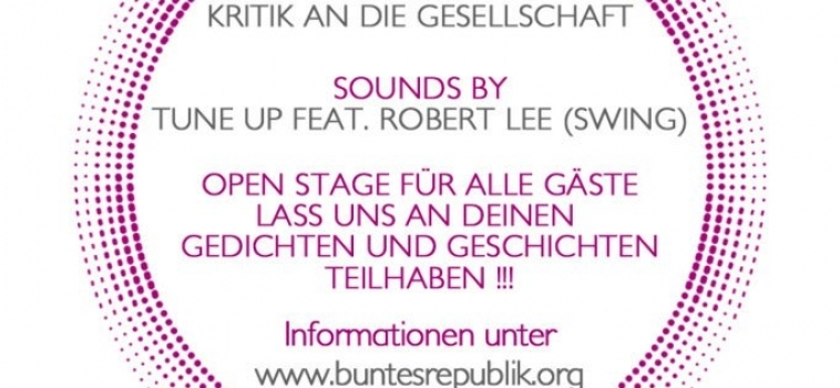 TuneUP feat. Robert Lee@ Slam Poetry hosted by Buntesrepublik e.V.