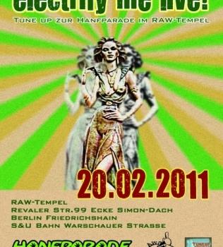 Soundsession zugunsten der Hanfparade; Sonntag 20.02 Raw Club mit TuneUp Live Support