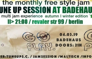 TuneUP Session // 04.03. // Badehaus
