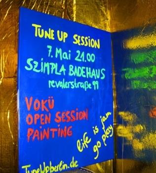 TuneUp Session@Badehaus Szimpla