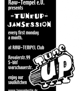 TuneUp Session 4.0 am 4.10 im Raw Tempel Club (Stenzerhalle)
