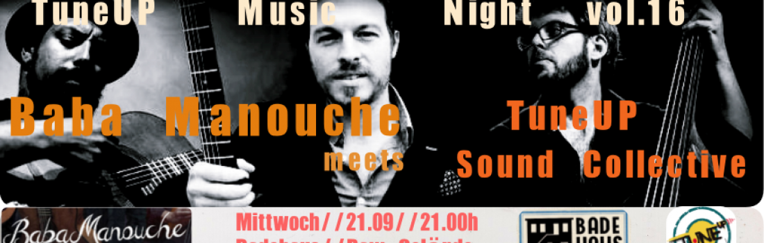 TuneUp Music Night vol 16 pres: Baba Manouche!