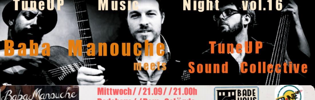 TuneUp Music Night vol 16 pres: Baba Manouche!