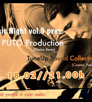 TuneUp Music Night vol.9 pres: Puto Production