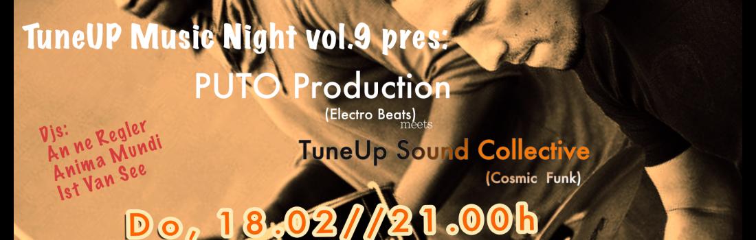 TuneUP Music Night vol.9 : Puto Production