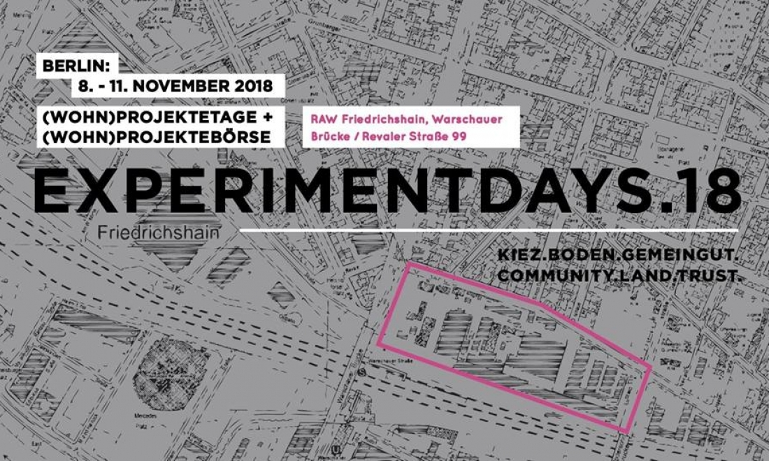 Experimentdays18 RAW // 8.-11. November