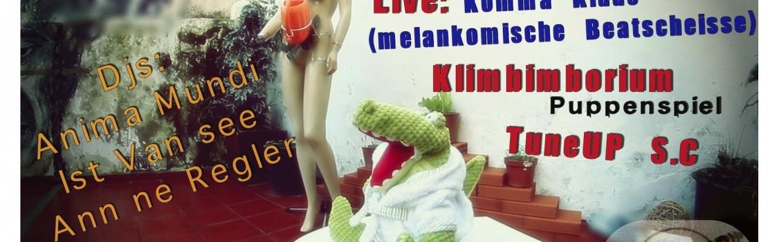TuneUp Music Night vol.8 pres: Komma Klaus / Klimbimborium