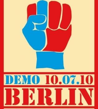 Rette deine Stadt! Megaspree Demo am 10.07