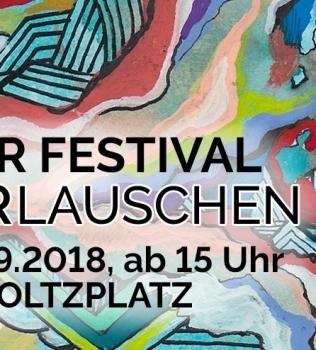 Liederlauschen – Das Open Air Festival auf dem Helmholtzplatz // 31.08