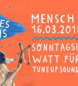 Pommes mit Eis | Soli-Party // 16.03.2018 23:00 // Mensch Meier