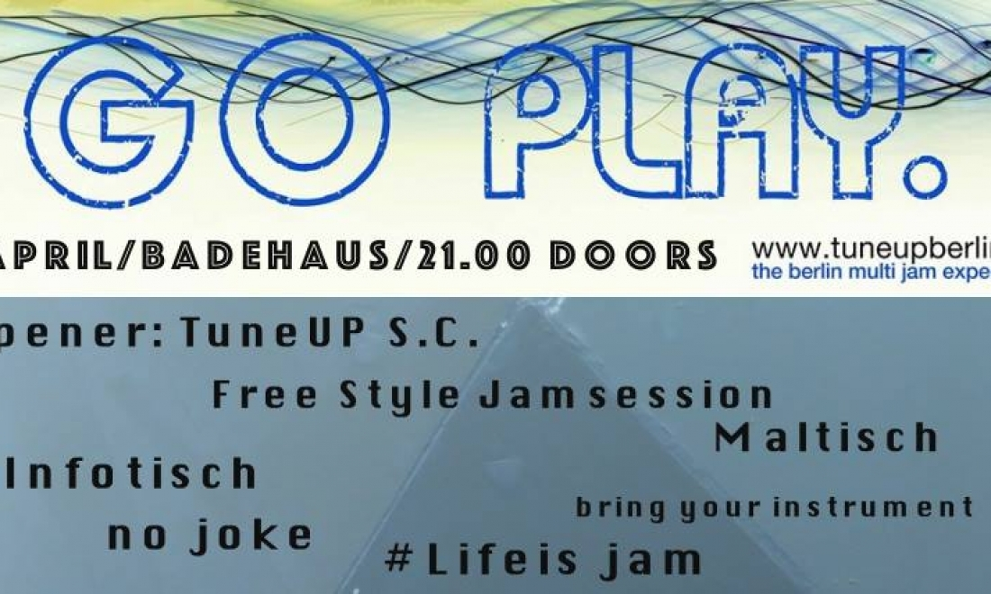 TuneUP Session // 01.04. // Badehaus