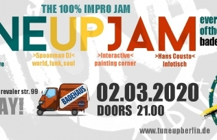 TuneUP Session / 02.03.20 / Badehaus