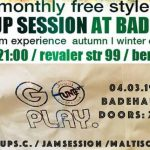 TuneUp Session / 04.03 / Badehaus